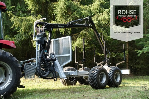 Rückeanhänger RW7.35- FL5.5 AE/HBR